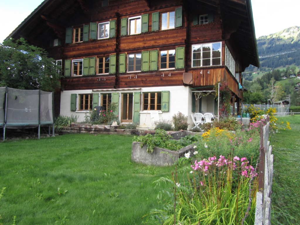 Chalet Halten - Apartment - Lenk - Exterior - Winter