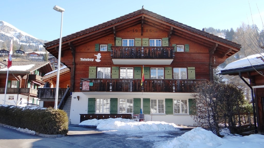 Teleboy - Apartment - Lenk - Exterior - Winter