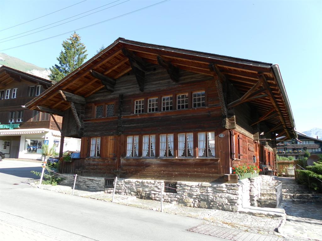 Landjägerhüsi - Apartment - Lenk - Exterior - Winter