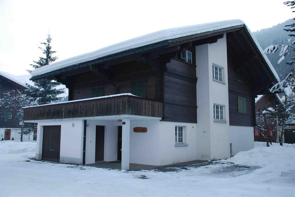 Elena # 1 - Apartment - Lenk - Exterior - Winter