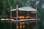 Music at lake Piburg
